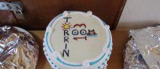 Cake for grand opening, Room 13 Torrin