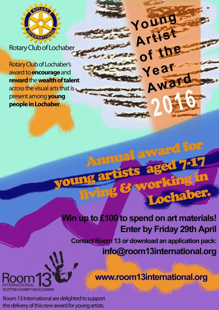 Rotary YA Award Poster2016