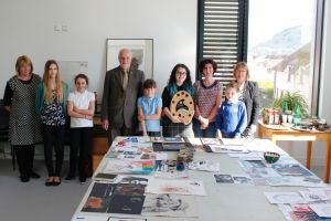 Young artists gather to receive their awards